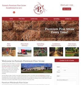 Putnals Premium Pine Straw