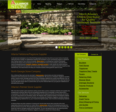 Gwinnett County Paves and Pavestone Company